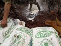 Tunceli'de 4 Sığınak İmha Edildi, 470 Kilo Amonyum Nitrat Ele Geçirildi