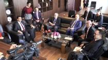 LEFKOŞA - Türkiye'nin Lefkoşa Büyükelçisi Kanbay'dan KKTC Ekonomi Bakanına Ziyaret