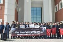 SÜLEYMAN ŞAH - Üniversite Öğrencilerinden Afrin'e Tam Destek