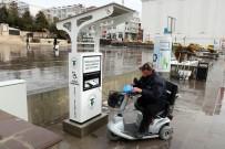 ENGELLİ ASANSÖRÜ - Yozgat'ta Engelliler İçin Şarj Dolum İstasyonu Açıldı