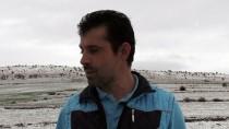 YOZGAT - Yozgat'ta Kar Yağışı Çiftçinin Yüzünü Güldürdü