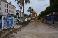 HÜSEYIN GÜNEY - Alanya İstiklal Caddesi Yenileniyor