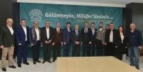 MUSTAFA BOZBEY - Ardino Ve Bansko Belediye Başkanlarından Bozbey'e Ziyaret