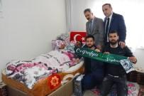 FATIH YıLMAZ - Atiker Konyaspor'dan Afrin Gazisi Ahmet Çetin'e Ziyaret
