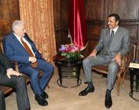 KATAR EMIRI - Başbakan Yıldırım, Katar Emiri Al Sani ile görüştü