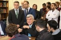 İBRAHIM KARAOSMANOĞLU - Başkan Karaosmanoğlu Öğrencilerle Buluştu