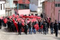 TUNAHAN EFENDİOĞLU - Binlerce Vatandaş Afrin Operasyonuna Destek İçin Yürüdü