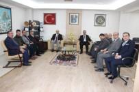 AHMET TAN - Bolvadin Esnaf Odası'ndan ESOB Başkanı Konak'a Ziyaret