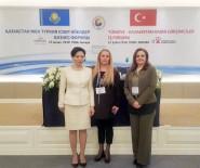 KAZAKISTAN - Edirne KGK Türkiye-Kazakistan Kadın Girişimciler İş Forumu'na Katıldı