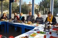 İLÇE KONGRESİ - Edremit CHP İlçe Yönetimi, Basın İle Bir Araya Geldi