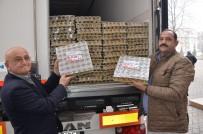 ORGANİK YUMURTA - Fatsa'dan Mehmetçiğe 1 Tır Yumurta