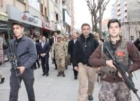 ORGENERAL - Jandarma Genel Komutanı Orgeneral Çetin, Siirt Esnafını Ziyaret Etti