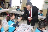 CELALETTIN YÜKSEL - Marmaris'te Okul Sütü Dağıtımı Yapıldı
