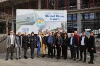 GENÇLİK MERKEZİ - Mezitli'de Daire Müdürleri Projeleri Yerinde İnceledi