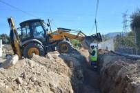 BÜYÜKŞEHİR YASASI - Milas'ta Bağdamları Mahallesi'nin Su Hattı Yenileniyor
