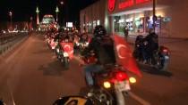 MOTOSİKLETÇİ - Motosikletçilerden 'Zeytin Dalı' Operasyonuna Destek Korteji
