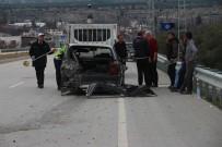 AHMET KARAKAYA - Mut'ta Trafik Kazası Açıklaması 1 Yaralı