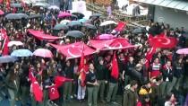 LİSE ÖĞRENCİSİ - Öğrencilerden Mehmetçik'e Destek Yürüyüşü