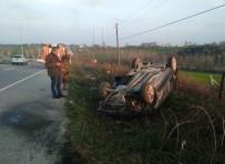 KARAKÖY - Otomobil Takla Attı Açıklaması 3 Yaralı