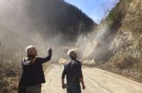 TOPRAK KAYMASI - Toprak kayması saniye saniye görüntülendi!