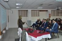 KADIN SIĞINMA - SGK'da, Kadına Yönelik Şiddetle Mücadele Semineri