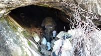 İÇ ÇAMAŞIRI - Tunceli'de Biri 8 Katlı Ve Havuzlu 3 Sığınak Ele Geçirildi
