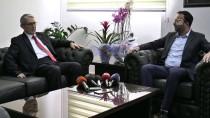 LEFKOŞA - Türkiye'nin Lefkoşa Büyükelçisi Kanbay'dan Nezaket Ziyareti