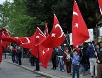 BUDAPEŞTE - Türkler nöbet tuttu, teröristler yaklaşamadı