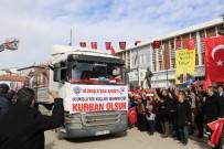TÜRKLER - Ulukışla'dan Afrin'deki Mehmetçiğe 90 Kurbanlık Gönderildi