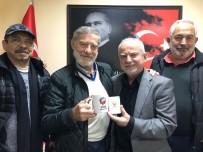 AHMET MEKİN - Ünlü Sanatçı Ahmet Mekin'den TSYD'ye Ziyaret