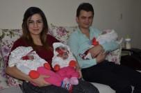 EBRAR - 10 Yıl Sonra Üçüz Bebek Sevinci