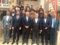NIHAT ERI - Ak Parti Şırnak İl Başkanı Ve Yönetim Kurulu Üyeleri Mardin'i Ziyaret Etti