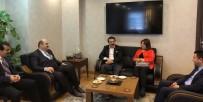 İBRAHIM AYDEMIR - Aydemir Aziziye Belediyesinin Konuğuydu