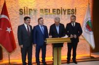 CEYHUN DİLŞAD TAŞKIN - Bakan Arslan Siirt Belediyesi'ni Ziyaret Etti
