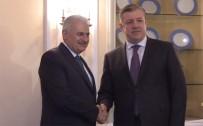 GÜRCİSTAN BAŞBAKANI - Başbakan Yıldırım, Gürcü Mevkidaşı İle Görüştü