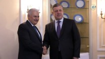 MÜNİH - Başbakan Yıldırım, Gürcü Mevkidaşı Kvirikaşvili İle Görüştü