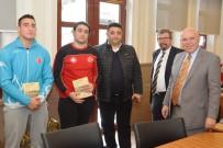 MİLLİ SPORCU - Başkan Eşkinat Şampiyon Judocuları Ağırladı