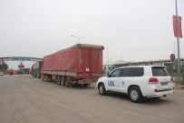 BM yardım konvoyu Suriye'ye geçti