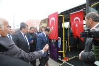 ULAŞıM KOORDINASYON MERKEZI - Büyükşehir İle Ceylanpınar'da Konforlu Ulaşım Dönemi Başladı