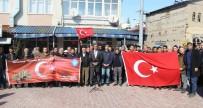 BEBEK KATİLİ - Çemişgezek'te Zeytin Dalı Harekatına Destek