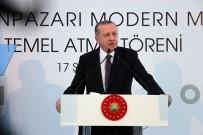 DOMİNO TAŞI - Erdoğan, Odunpazarı Modern Müze'nin Temel Atma Törenine Katıldı