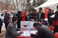 GENÇLİK MERKEZİ - Kahta'da Kan Ve Kök Hücre Bağışı Kampanyasına Yoğun İlgi