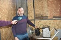 KAYNAR - Karadeniz Fıkrası Gibi Keşif Açıklaması Evini Buzdolabıyla Isıtıyor