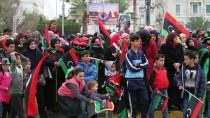 DEVRİK LİDER - Libya'da 17 Şubat Devriminin 7'Nci Yıl Dönümü