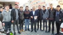 OKUL MÜDÜRÜ - Liseli Gençler Afrin Şehitleri İçin Lokma Hayrı Yaptı