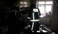YANGINA MÜDAHALE - Malatya'da Ev Yangınları