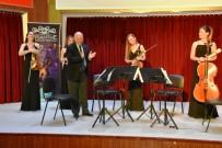 KARAHISAR - Nemeth Quartet Tekirdağlılara Müzik Ziyafeti Verdi