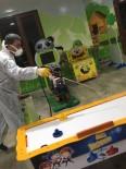 KIŞ MEVSİMİ - Pıtırcık Kapalı Oyun Evi'nde Dezenfeksiyon Çalışması Yapıldı