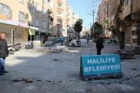 SELAHADDIN EYYUBI - Selahaddin Eyyubi'de Beton Parke Çalışması