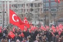 ZEYTIN DALı - Sivas'ta Zeytin Dalı Harekatı'na Destek Yürüyüşü